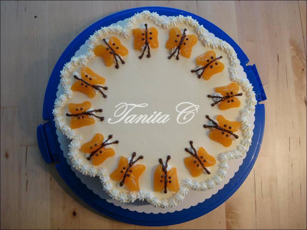 Schmetterlinge-Torte