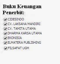 Jual Buku Keuangan Penerbit Lakasana, Tamita, Dharma, Ekonisis Murah