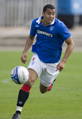 The future striker of the Rangers. Kane Hemmings