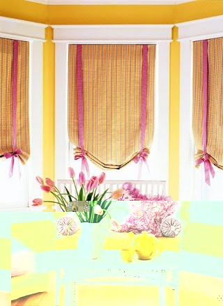 Vintage home cortinas para sala for Cortinas vintage