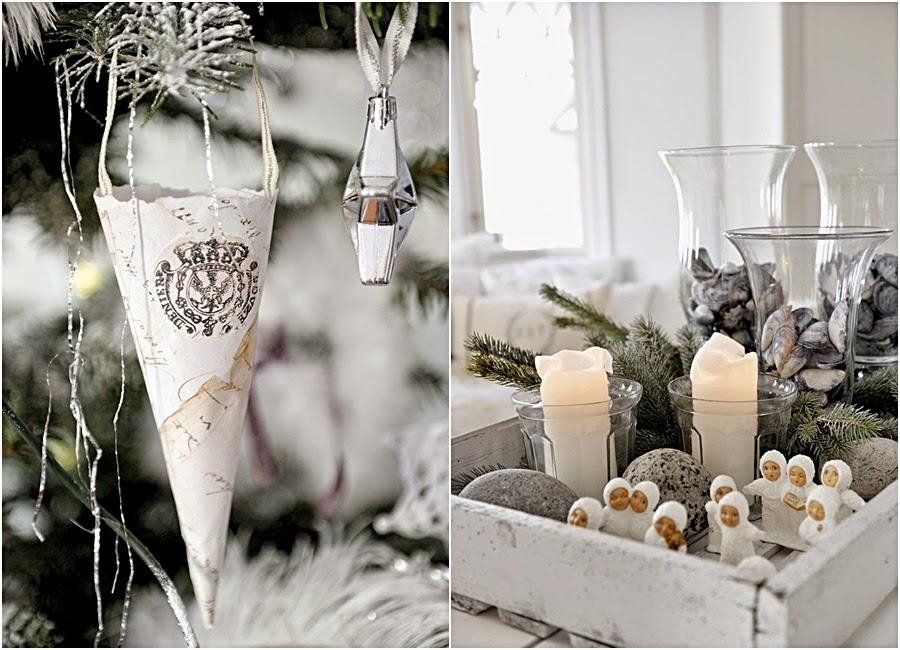 wystrój wnętrz, home decor, wnętrza, urządzanie mieszkania, scandi, nordic, styl skandynawski, święta, Boże Narodzenie, dekoracje świąteczne, choinka, świece, ozdoby