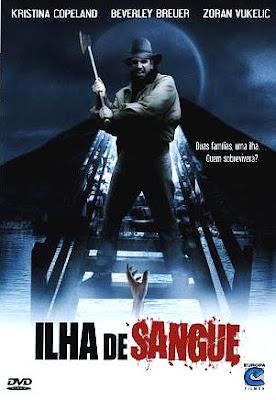 Filme Poster Ilha de Sangue DVDRip XviD & RMVB Dublado
