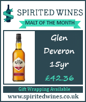 Spirited Wines Malt of the Month