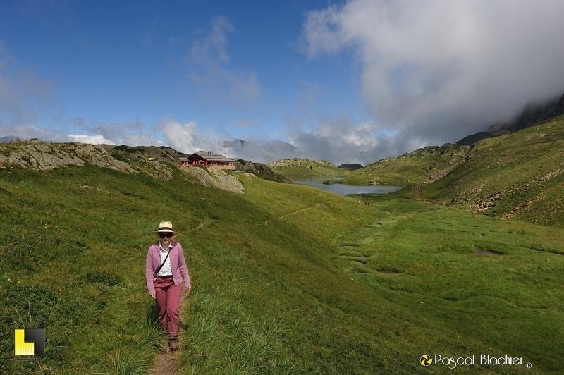 valérie blachier quitte les lacs Noir et Besson photo pascal blachier