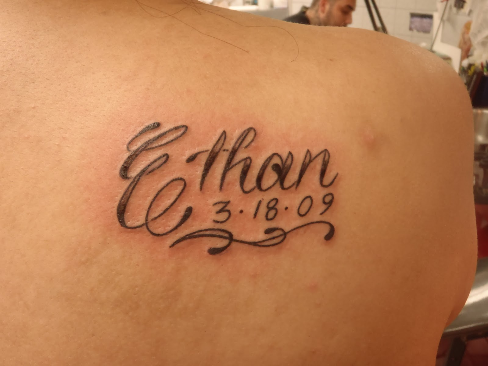 Shoulder Tattoos For Black Women