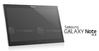 Revealing images Galaxy Note tablet 12 inch super large screen of Samsung