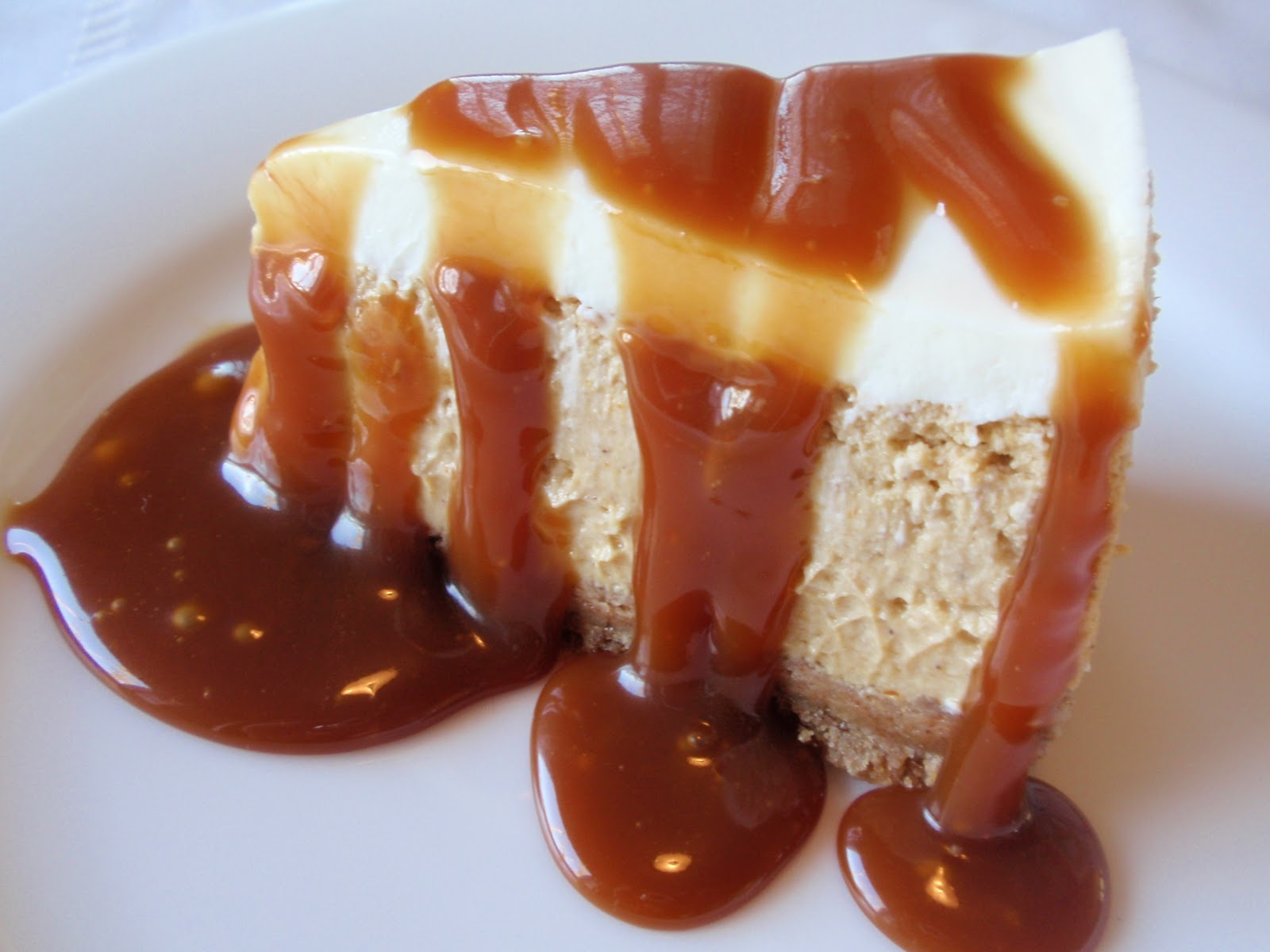 TEST #31: Pumpkin Bourbon Cheesecake with Grand Mariner Caramel | Bon ...