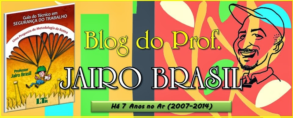 BLOG DO PROF. JAIRO BRASIL