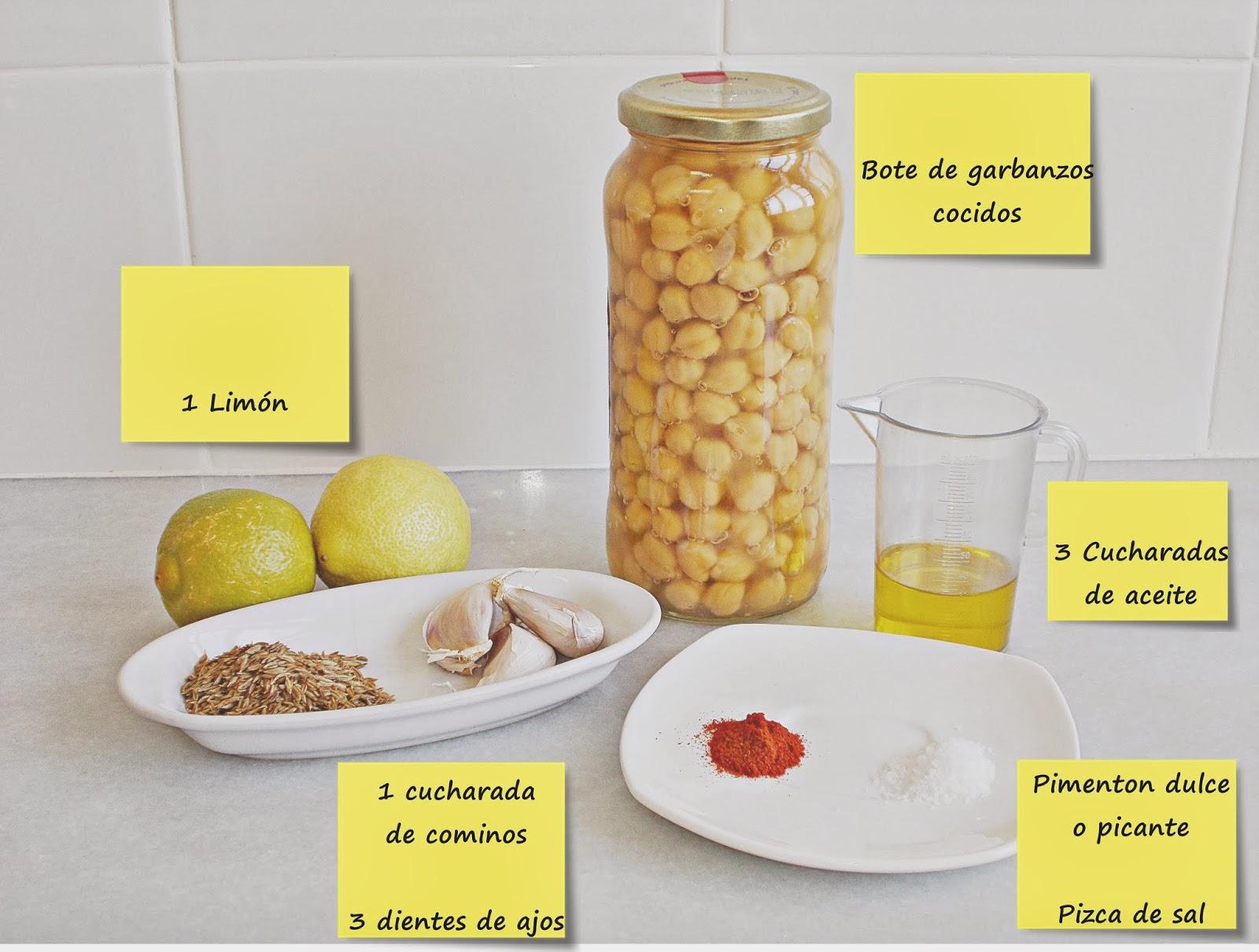 Receta-cocina-hummus-garbanzos-ingredientes