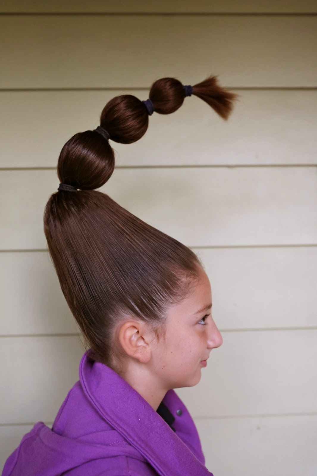 Cool Mleballard Family Crazy Hair Day 2014 Hairstyle Inspiration Daily Dogsangcom