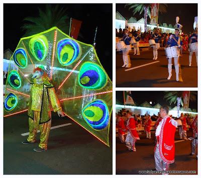 DSF mascots & parade bands