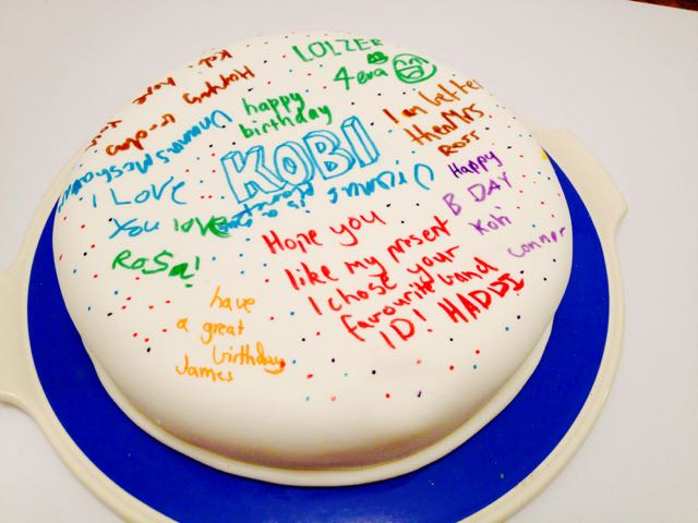 Thirtynine Easiest Birthday Cake Ever