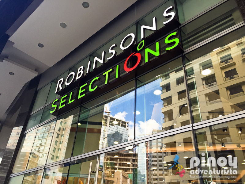 top picks 5 reasons why you should shop at robinsons selections in bonifacio global city. Black Bedroom Furniture Sets. Home Design Ideas