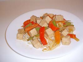 Weight Loss Recipes : Stir-Fried Tofu with Vegetables