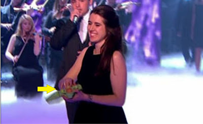 Natalie Holt threw eggs at Simon Cowell