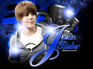 Nice wallpaper of Justin