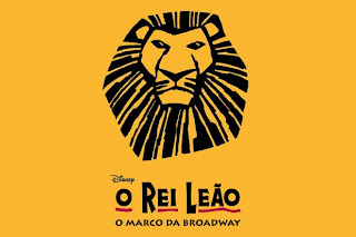 """Cartaz """"O Rei Leão"""""""