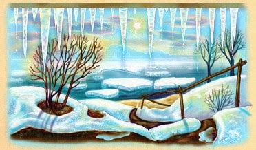 Картинки о весне с сосульками