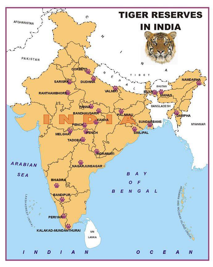 Ias aspirants important map locations in india important map locations in india gumiabroncs Images