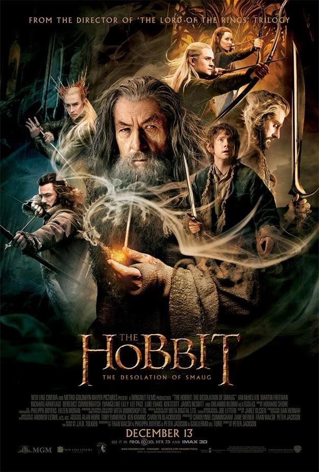 El Hobbit: la Desolación de Smaug - poster final