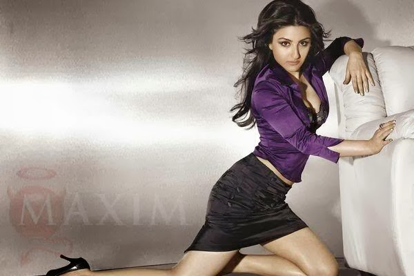 Soha Ali Khan in Maxim India Magazine