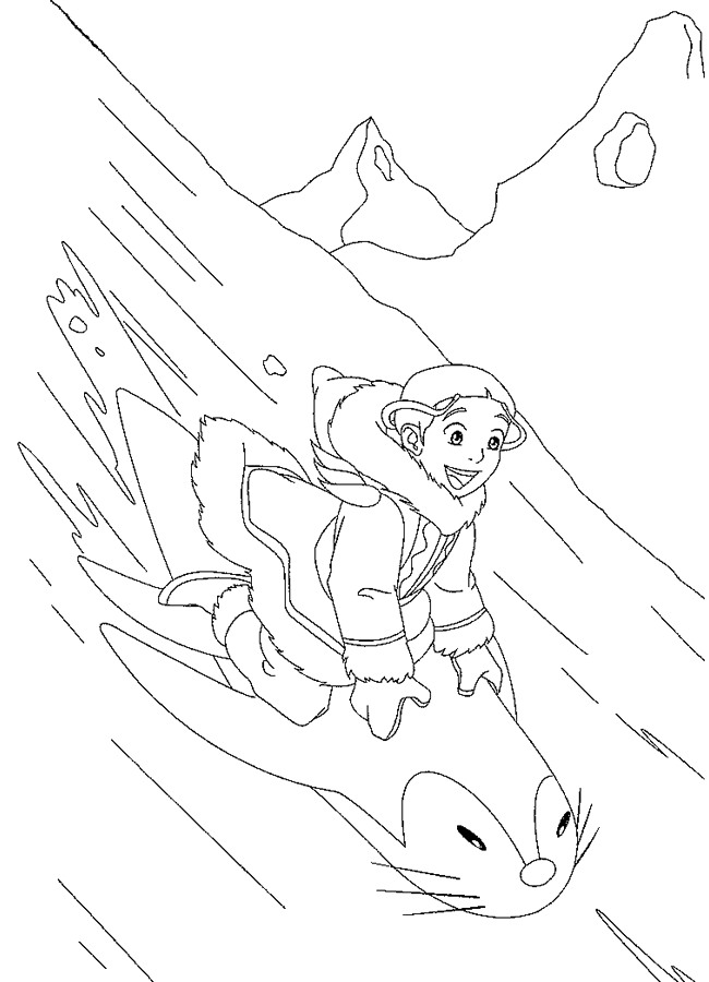 Avatar coloring pages learn to coloring for Avatar coloring pages