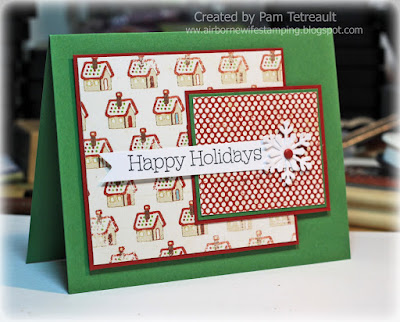 airbornewife happy holidays christmas stampin up my minds eye ccc12
