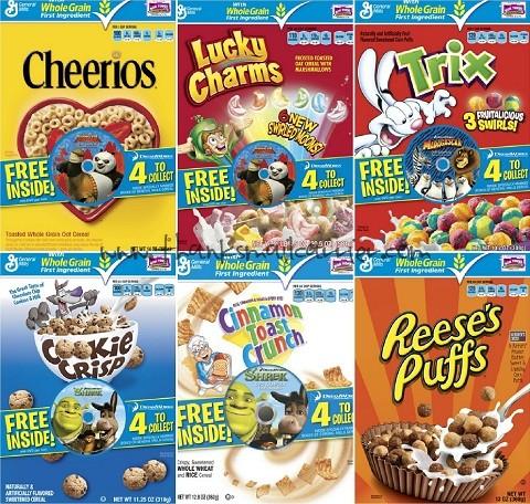 Big G cereals