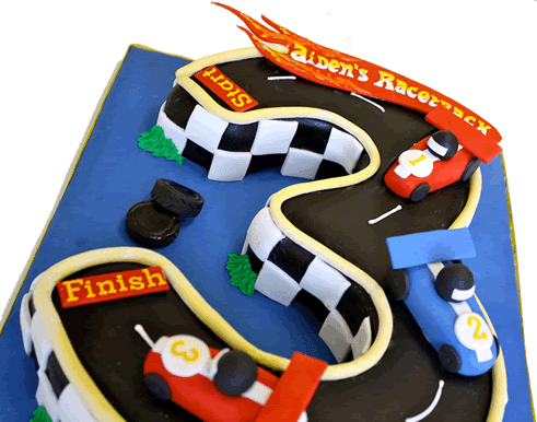 Tortas Hot Wheels, parte 1