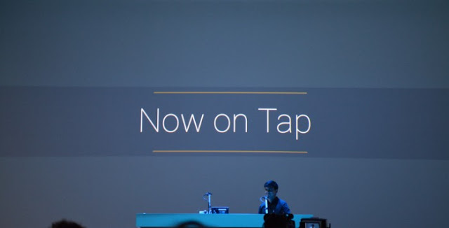 Now on Tap in Android M