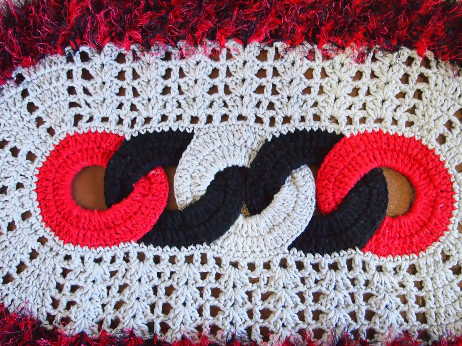 os croches da elsa tapete oval   elos