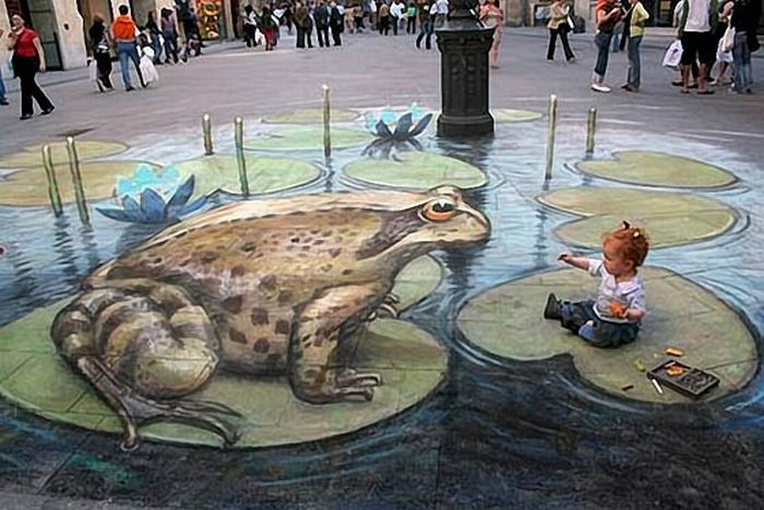 Amazing 3D Drawing On Pavement  18 Images  pavement art new yorker caricatures funny bananas 3d famous people caricatures drawing 3d pictures drawing Doronina Tatiana cute banana art caricatures of famous people artworks from used cartons art and craft amazing3dpavementdrawings amazing beautiful paintings amazing 3d photos amazing 3d drawing sidewalk 3d images on payvment 3d drawing imega 3d drawing image 3D 2