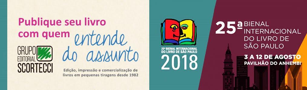 Bienal do Livro 2018 - Scortecci
