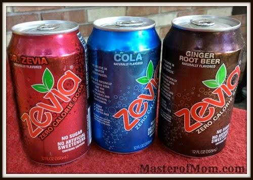 Dr. Zevia, Zevia Cola, Zevia Ginger Root Beer