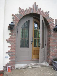 Custom screen doors, arched, John huisman