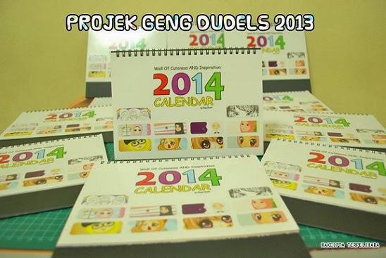 Dapatkan Kalendar Limited Edition Geng Doodlers Malaysia!