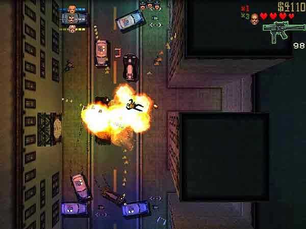 Download Free Retro Games - Grand Theft Auto II