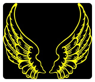 ArchAngel CHAMUEL, Yellow Angel Wings