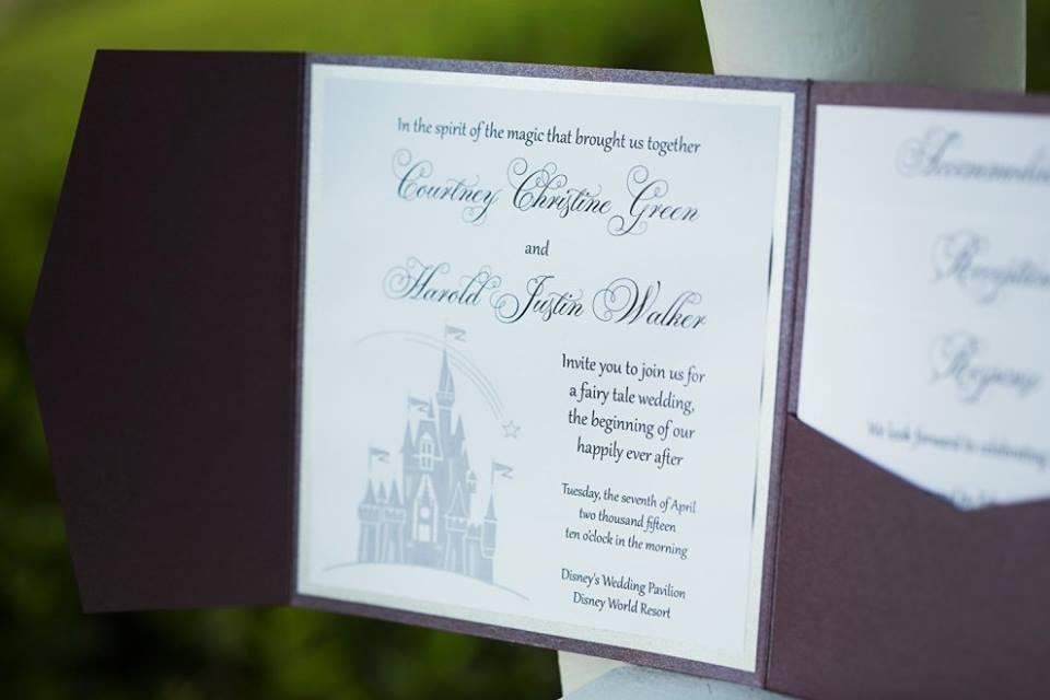 Pixie Dust Required Disney Wedding Wednesday Justin Courtney – Disney Wedding Save the Dates
