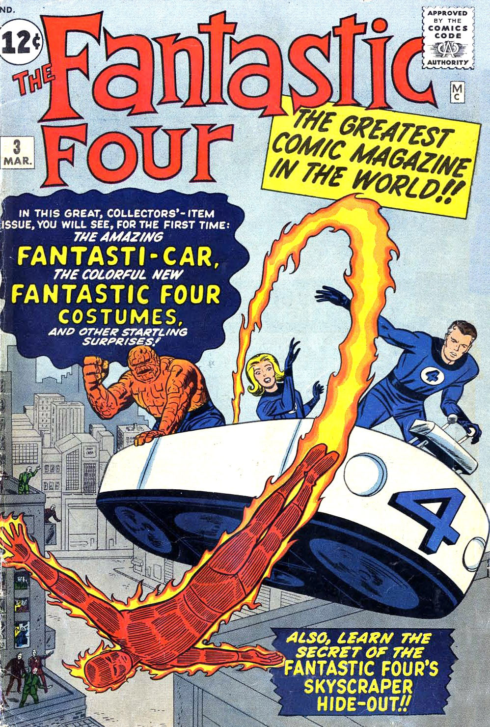 Fantastic Four Issue 3