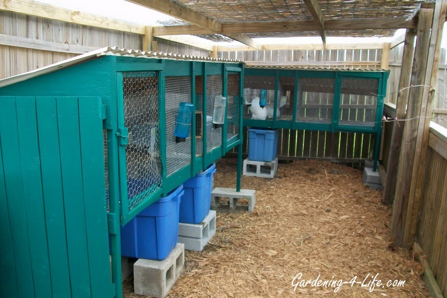 Free woodworking plans - how to make a rabbit hutch