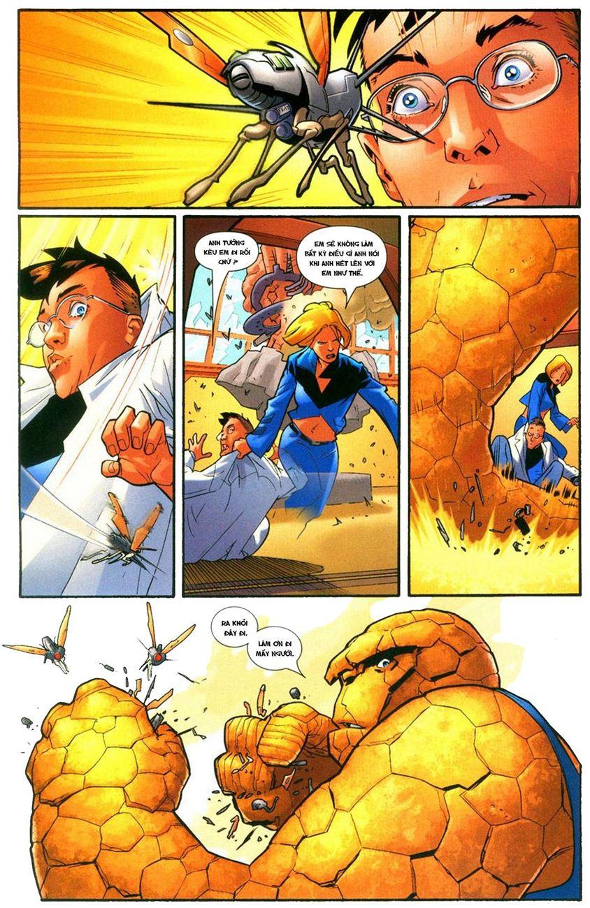 Ultimate Fantastic Four chap 9 - Trang 4