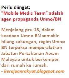 """Mobile Medic Team"" Jabatan Pertahanan Awam Malaysia (JPAM)"