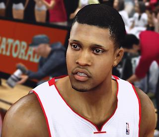 NBA 2K14 Rudy Gay Cyberface Mod
