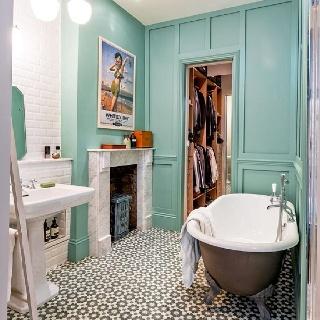 Living the Anthropologie way of life...: modern vintage bathrooms on waterworks bathroom design, kelly wearstler bathroom design, ikea bathroom design, houzz bathroom design,