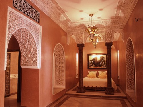 Moroccan bedroom design ideas room design inspirations - Moroccan style bedroom ...
