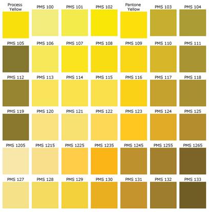 Pantone Color Chart   01