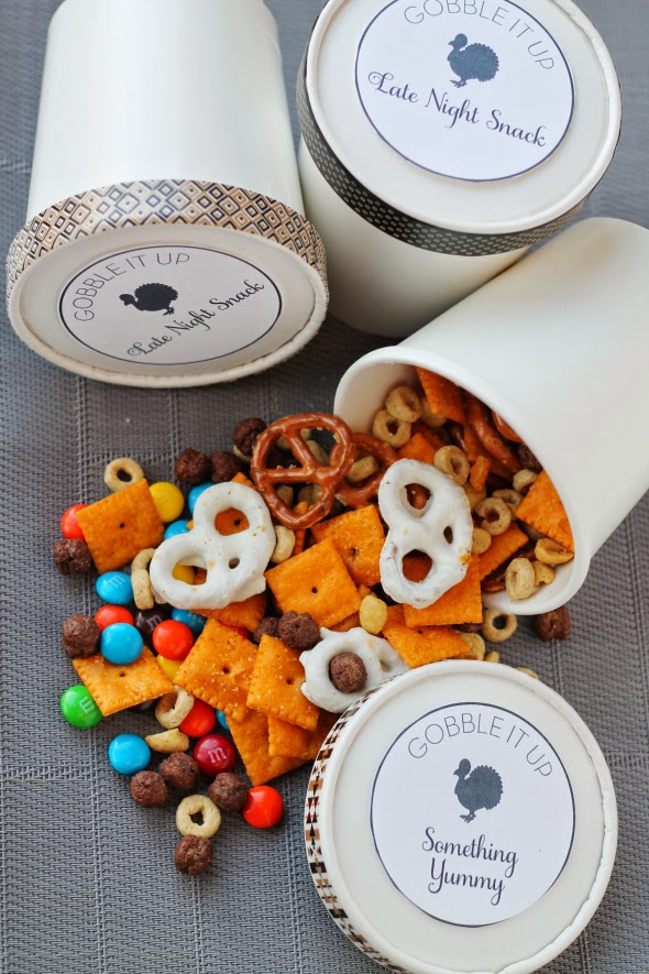 Crowd Pleasing Snack Mix - makes a HUGE batch