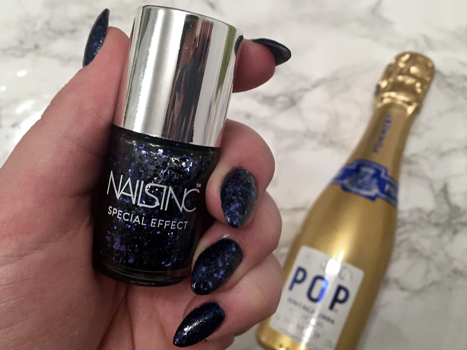 New Year Nails With OPI & Nails Inc