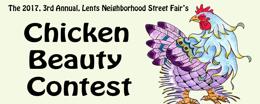 The Lents Fair Chicken Beauty Contest